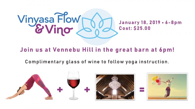 Vinyasa Flow & Vino w/ Blueprint for Yoga