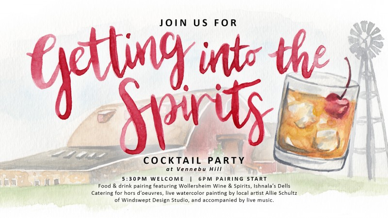 """""""Getting into the Spirits"""" Pop-Up Cocktail Party Pairing"""